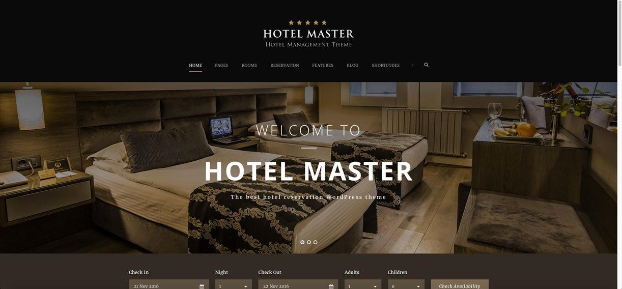 recensione hotel master theme