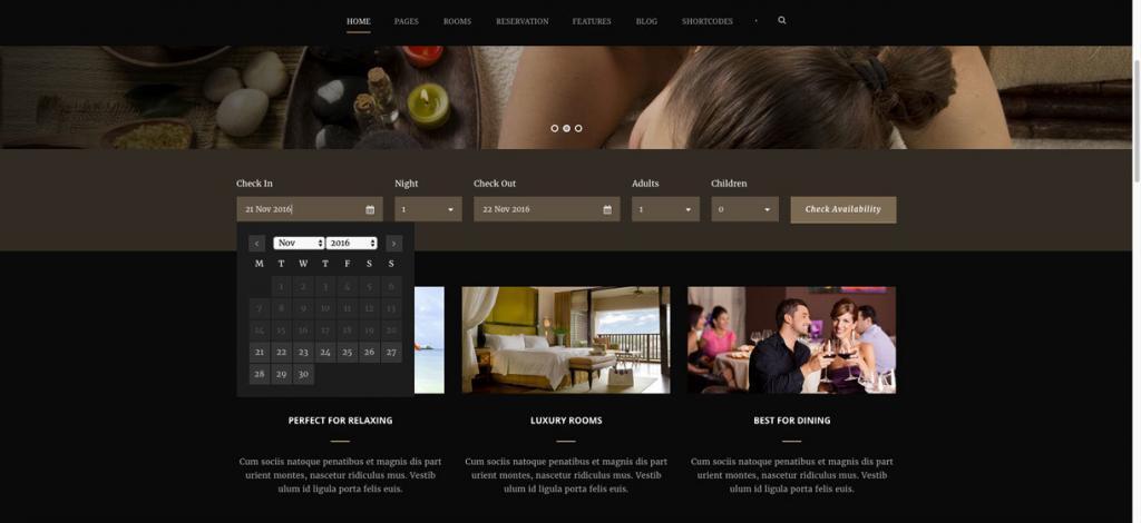 I migliori template WordPress per hotel
