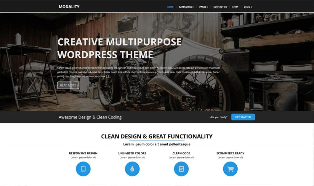 template WordPress gratuiti