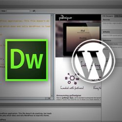 Dreamweaver Wordpress