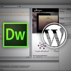Dreamweaver Wordpress