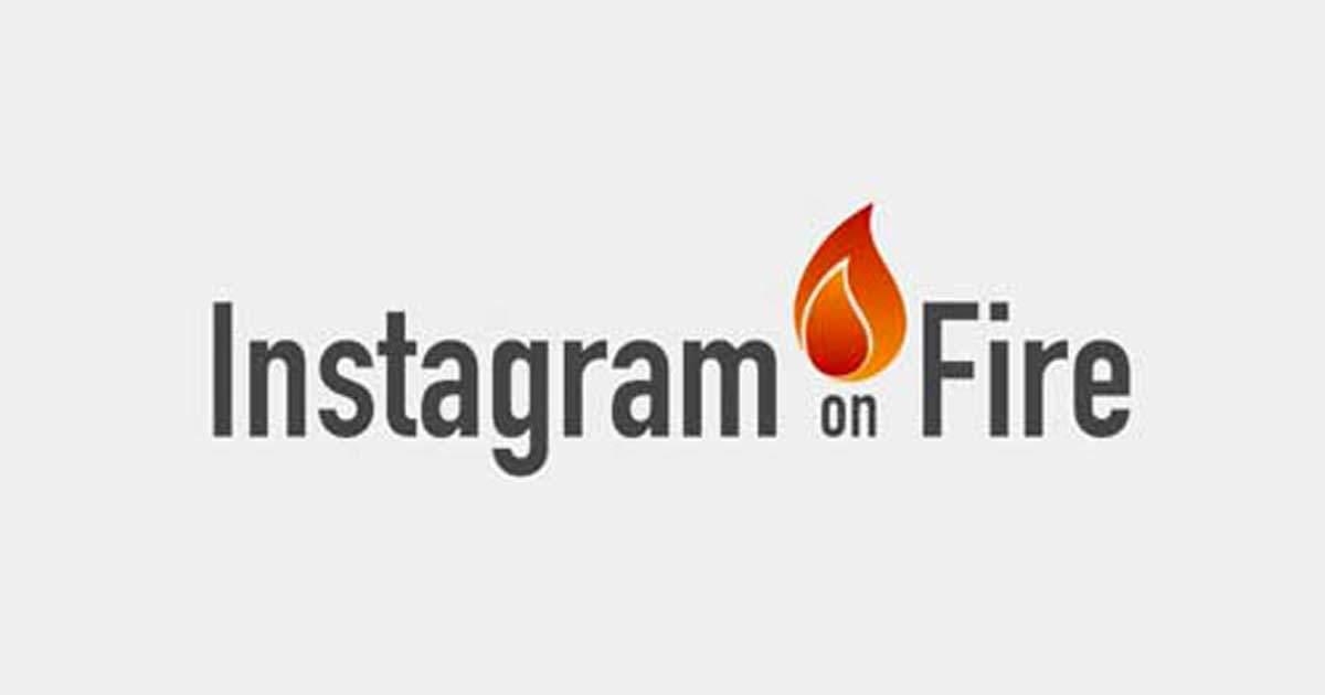 corso instagram on fire