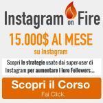 corso Instagram influencer
